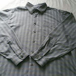 Men's Jos. A Banks striped button dress shirt